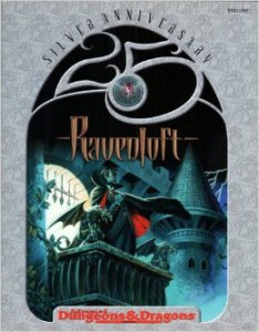 Ravenloft - silver anniversary edition